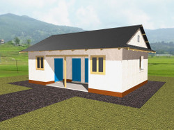BWB's Strawbale House Design for Nepal